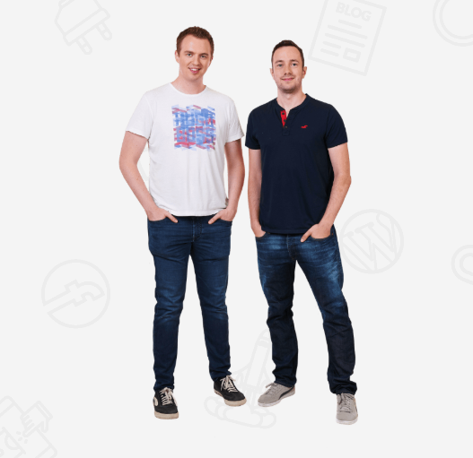 Authority Hacker founders Mark Webster and Gael Breton
