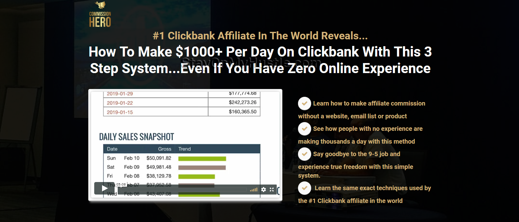Buy Commission Hero Affiliate Marketing Deals Today