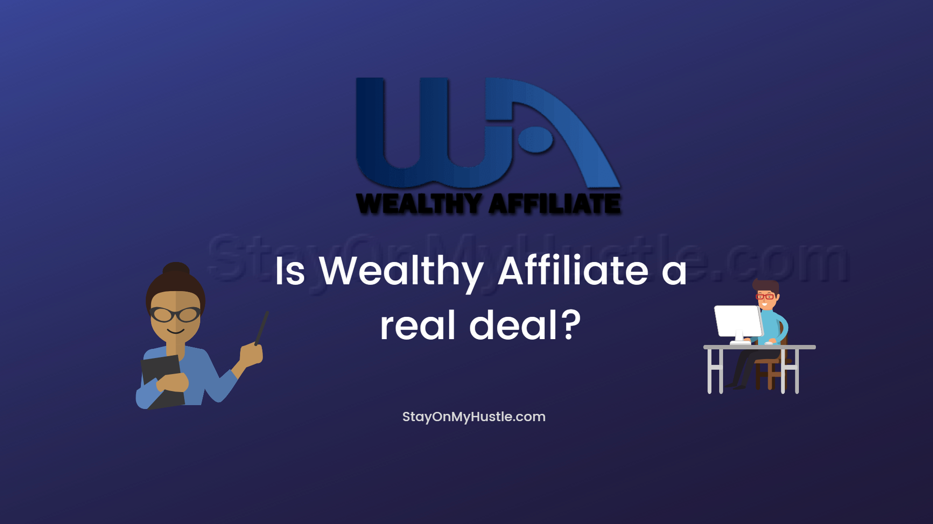 blog banner of Wealthy Affiliate review