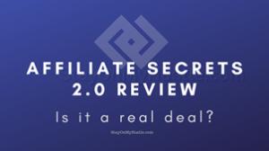 blog banner of Affiliate Secrets 2.0 review