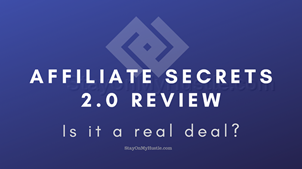 Spencer Mecham's Affiliate Secrets 2.0 review: Is Affiliate Secrets 2.0 a real deal?