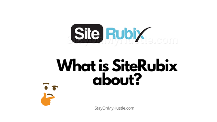Blog banner of blog post titled What is SiteRubix About?