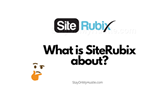 feature image of Siterubix review blog post