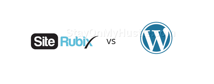 graphic of SiteRubix vs WordPress.com