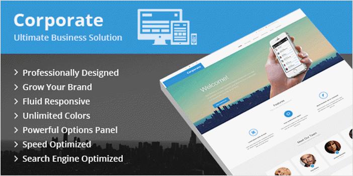 Corporate- premium wordpress theme