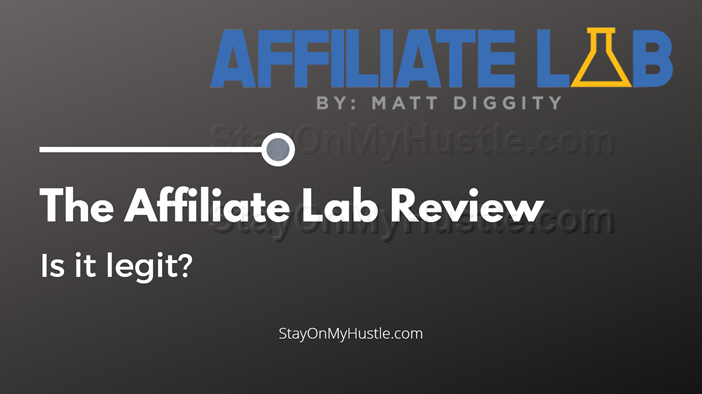Blog banner of Matt Diggity's Affiliate Lab review