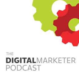 The Digital marketer podcast banner