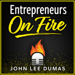 Entrepreneurs On Fire podcast banner