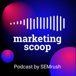 Marketing Scoop podcast banner