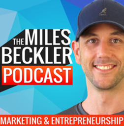 Miles Beckler podcast banner