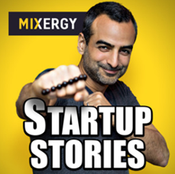 Mixergy podcast banner
