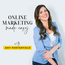Online Marketing Made Easy podcast banner