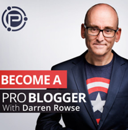 The Problogger podcast banner