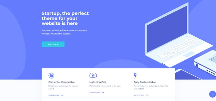 Startup- A Premium WordPress Theme Dedicated to Entrepreneurs