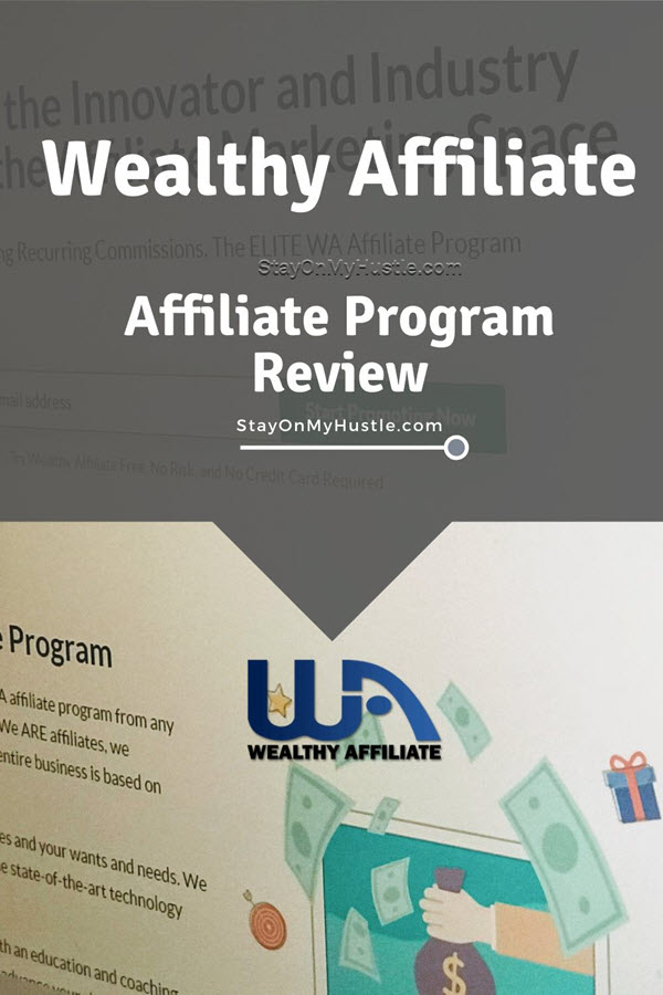 Wealthy Affiliate affiliate pgoram review - Pinterest