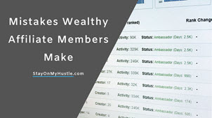 Mistakes Wealthy Affiliate Members make