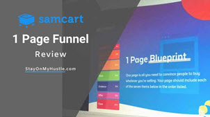 1 Page Funnel Review Feature image