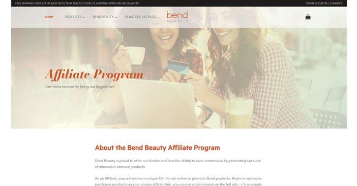 Bend Beauty Affiliate Program