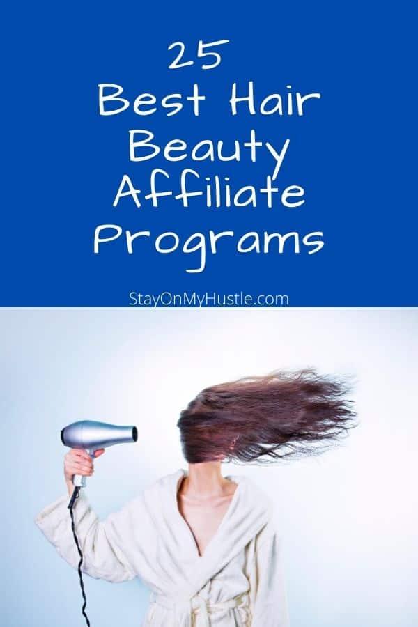 25 best hair beauty affiliate programs