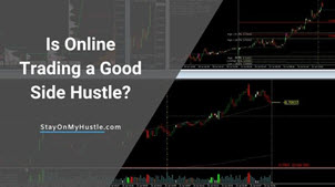 Is online trading a good side hustle - feature image
