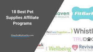 best pet supplies affiliate programs