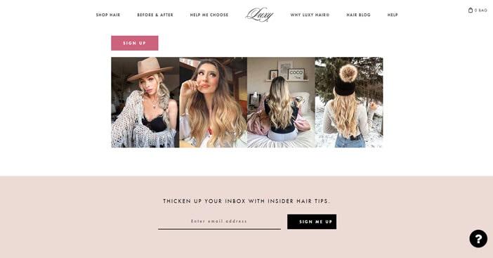 Luxury Hair Affiliate Program