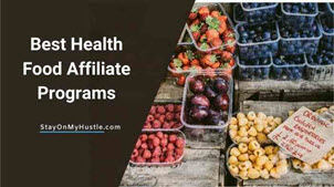 best health food affiliate programs feature image