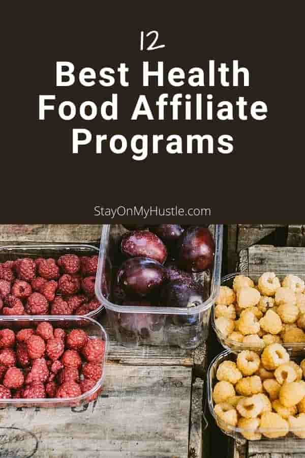 Best Health Food Affiliate Programs - Pinterest
