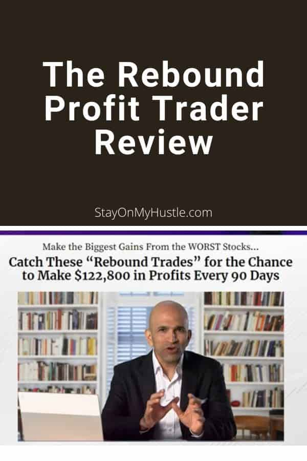 The Rebound Profit Trader Review - Pinterest graphic
