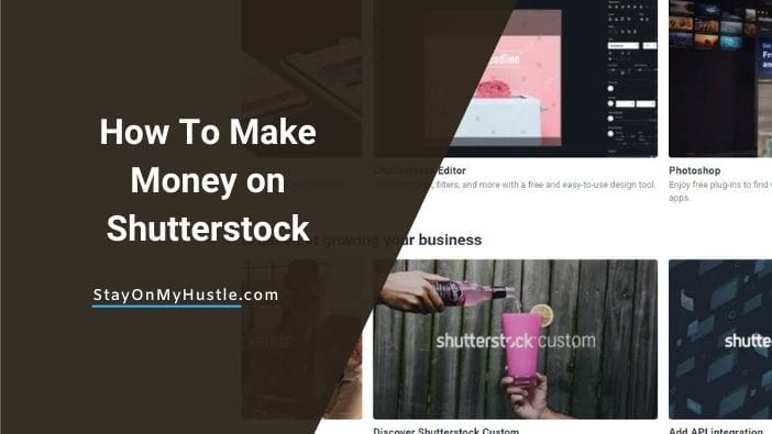 how to make money with shutterstock