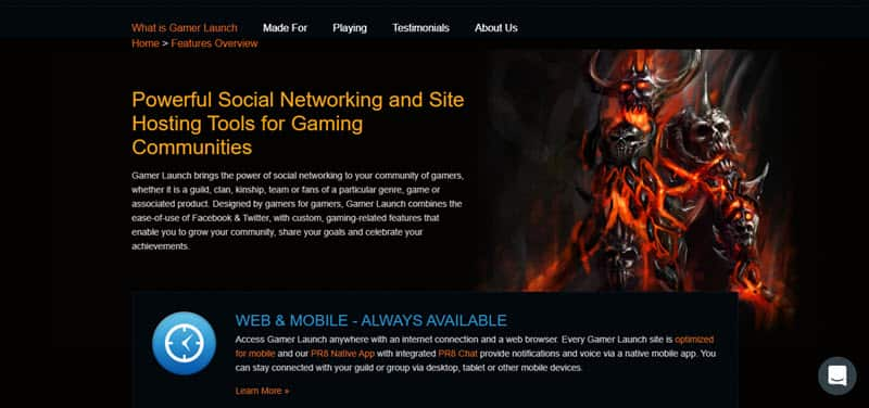 Gamer Launch